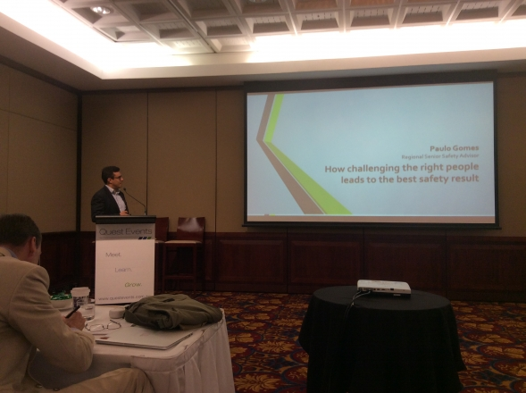 Otraco presents at Safety in Hazardous Industries conference
